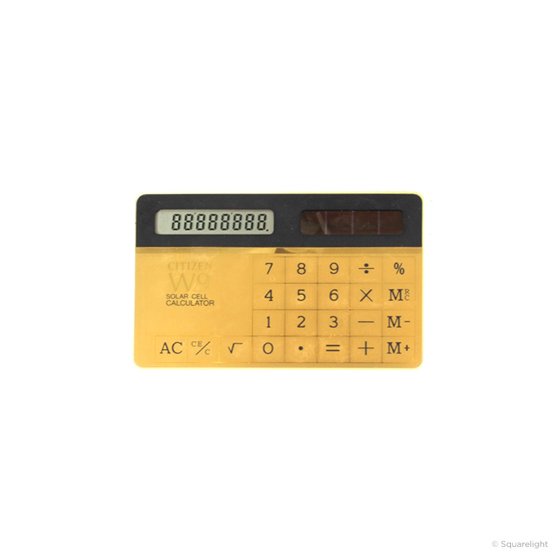 Citizen W9 Calculator